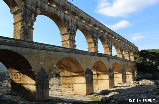 le pont du gard à collias